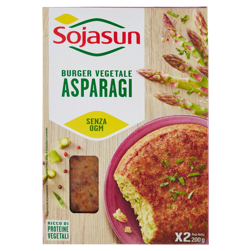 Sojasun Burger Vegetale Asparagi 200 g