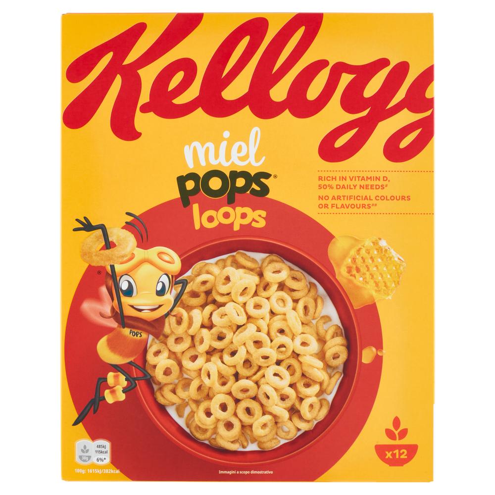 Kellogg's miel pops loops 375 g