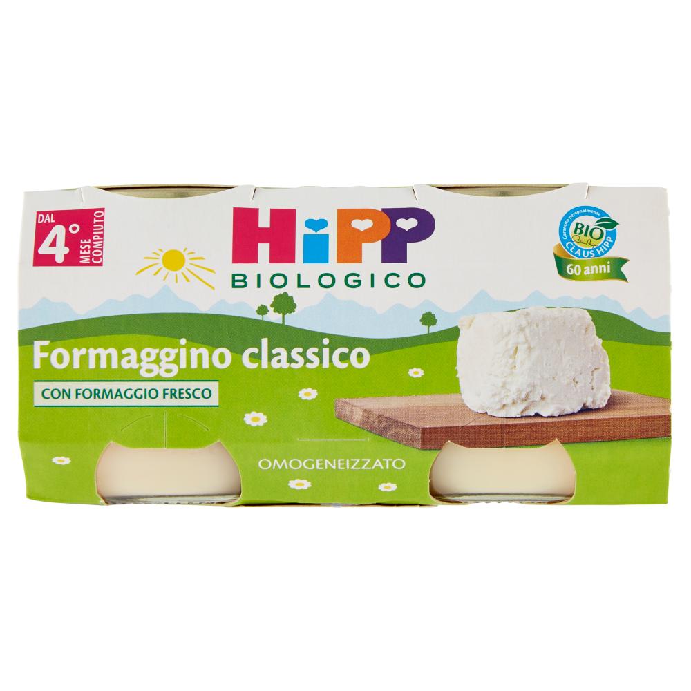 HiPP Biologico Formaggino classico Omogeneizzato 2 x 80 g