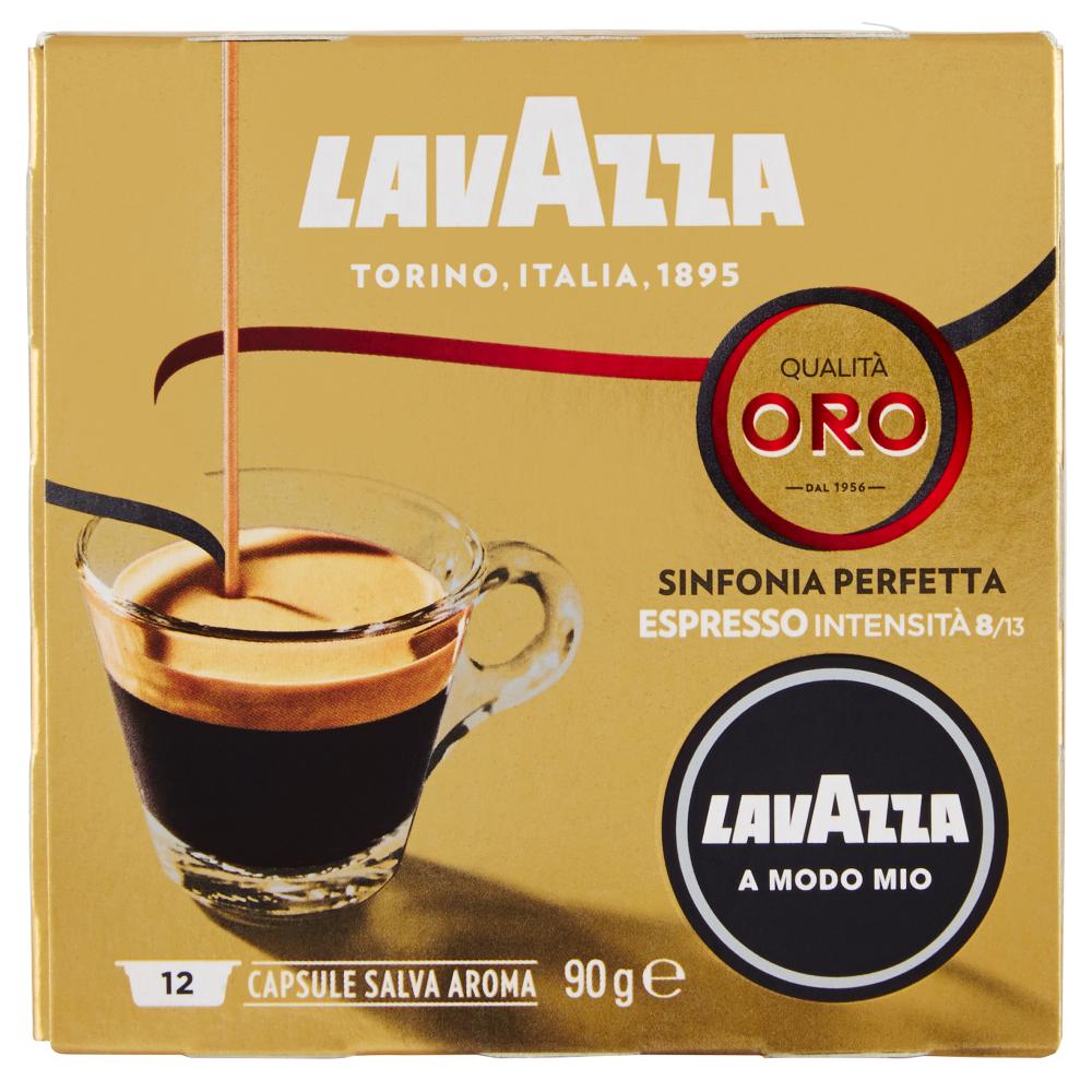 Lavazza A Modo Mio, Qualità Oro  Sinfonia Perfetta Caffè Espresso, Intensità 8/13 - 12 Capsule