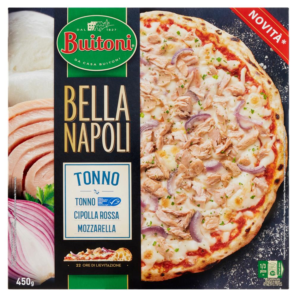 BUITONI BELLA NAPOLI TONNO Pizza surgelata 450g (1 pizza)