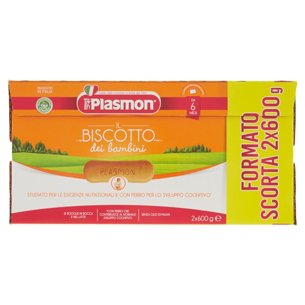 Plasmon il Biscotto dei bambini 2 x 600 g