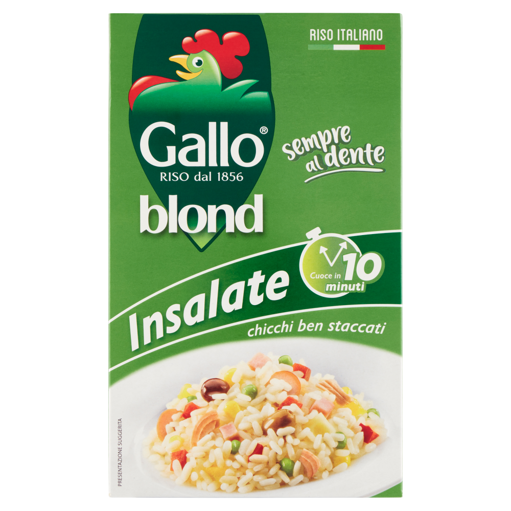 Gallo blond Insalate 10 minuti 1 kg