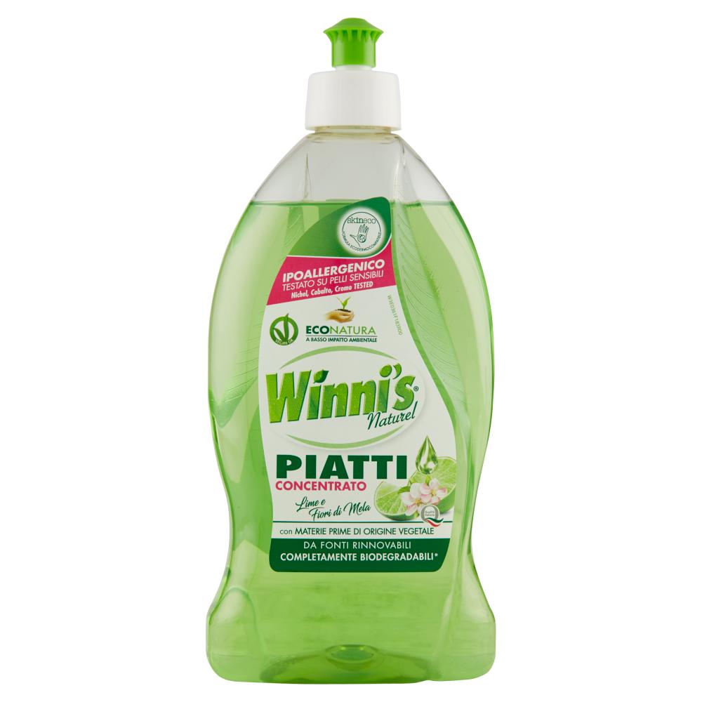 Winni's Piatti Concentrato Lime e Fiori di Mela 500 ml