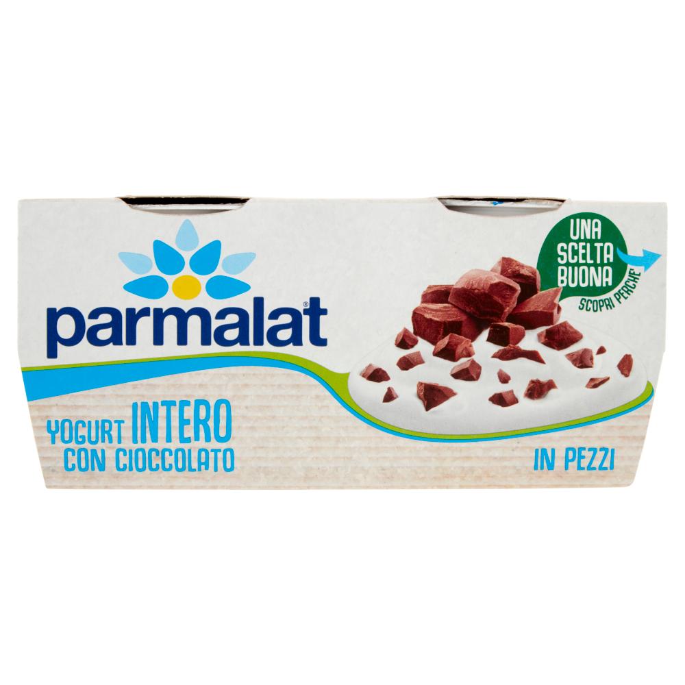 parmalat Yogurt Intero con Cioccolato in Pezzi 2 x 125 g