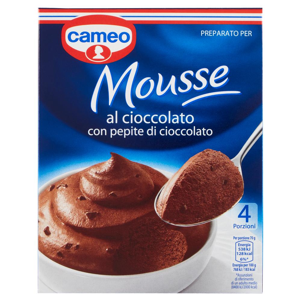 cameo Preparato per Mousse al cioccolato con pepite di cioccolato 98 g