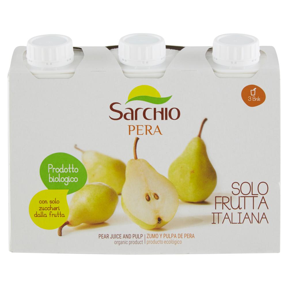 Sarchio Pera 3 x 200 ml