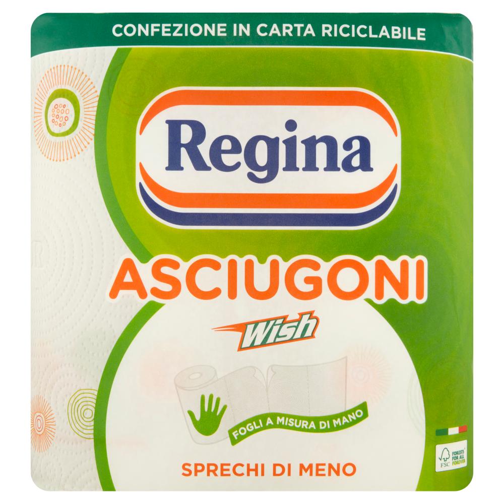 Regina Asciugoni Wish carta cucina 2 rotoli