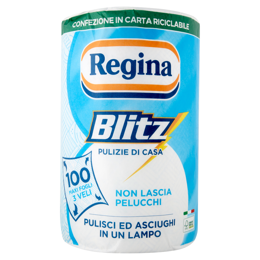 Regina Blitz carta casa 1 rotolo