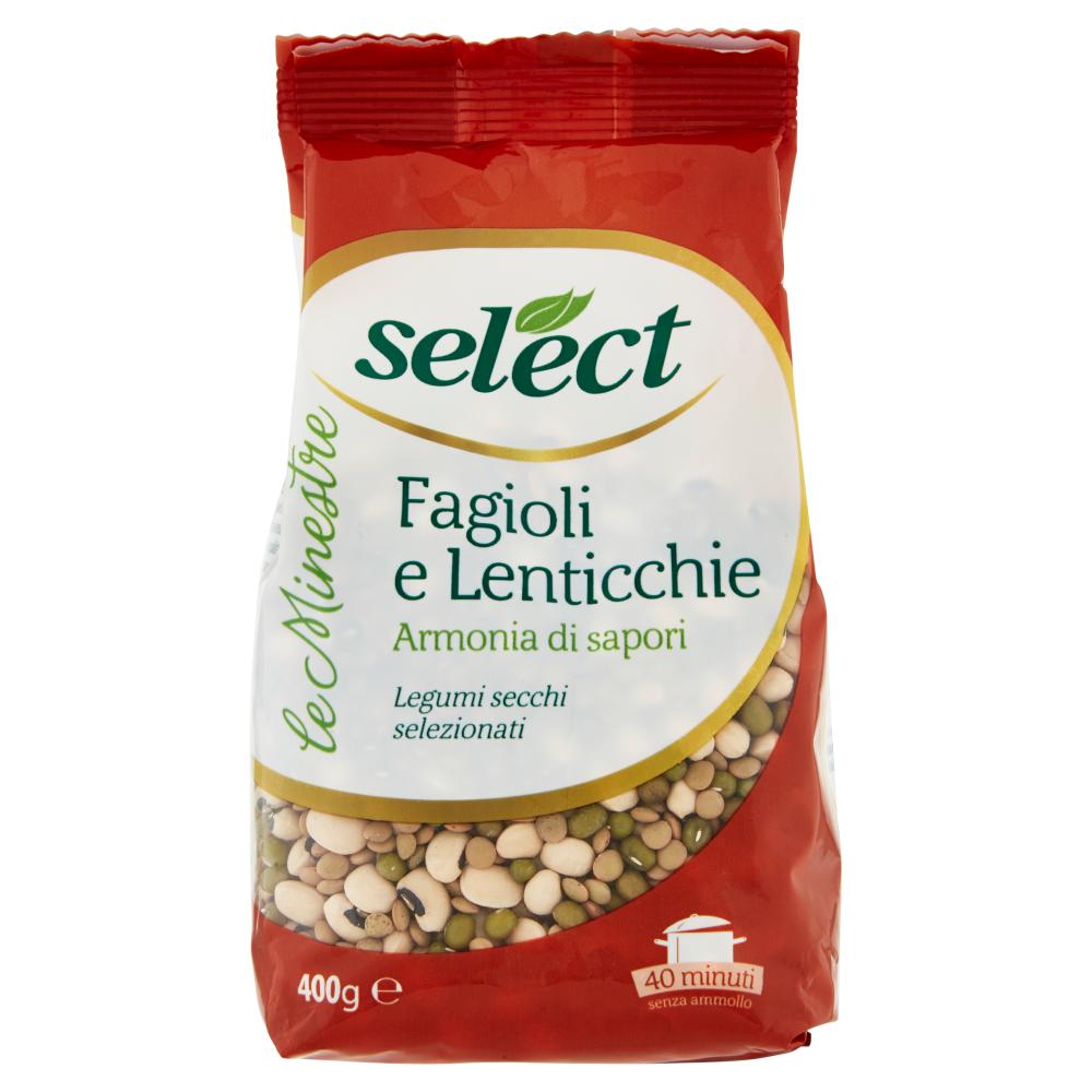 select le Minestre Fagioli e Lenticchie 400 g