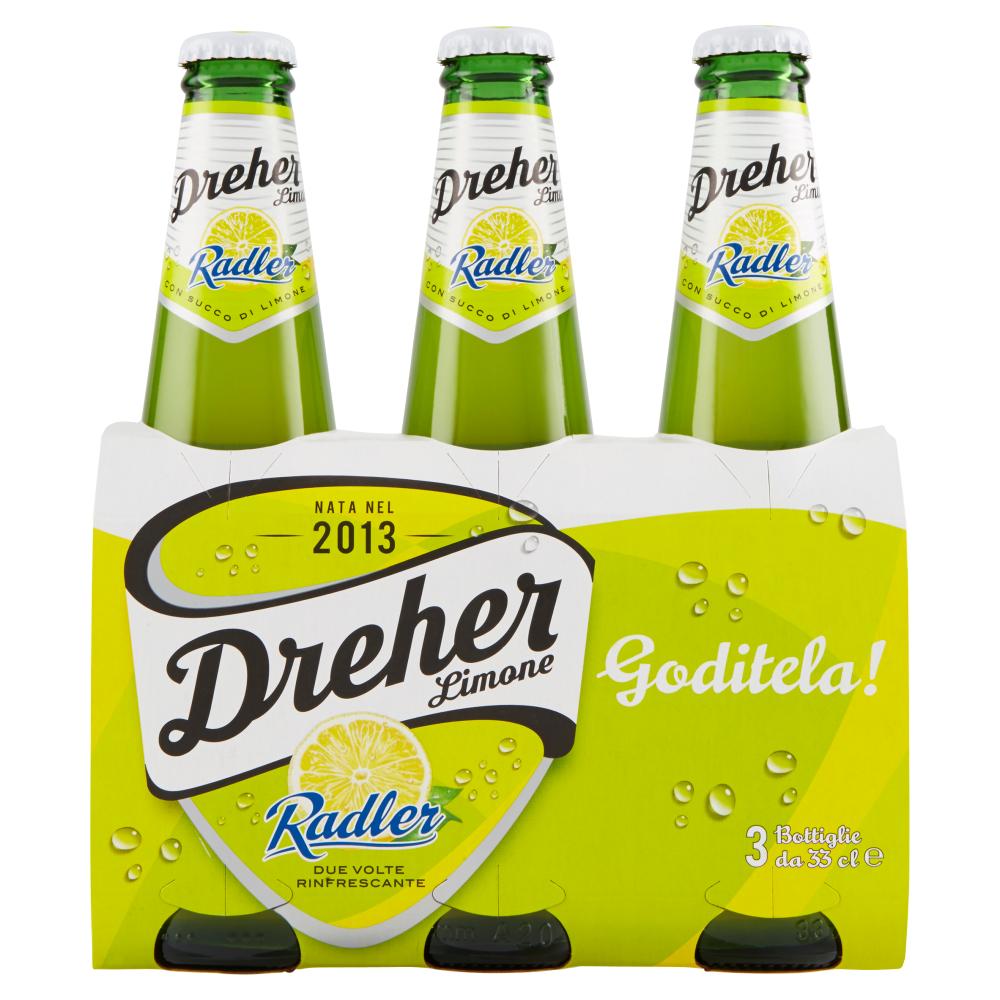 Dreher Radler Limone 33clx3