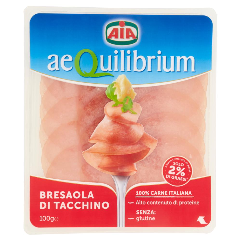 Aia aeQuilibrium Bresaola di Tacchino 100 g