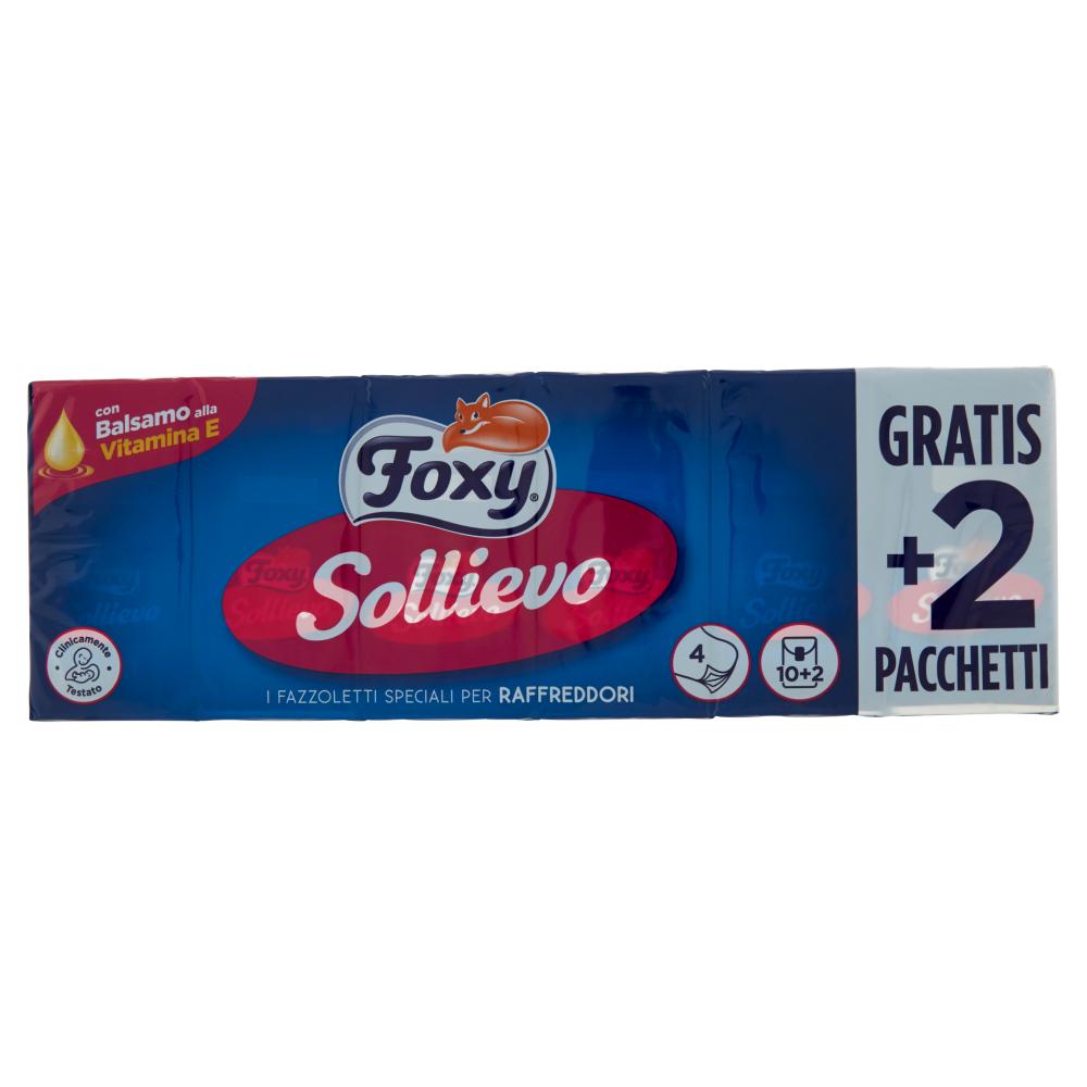 Foxy Sollievo Fazzoletti 10+2 pz