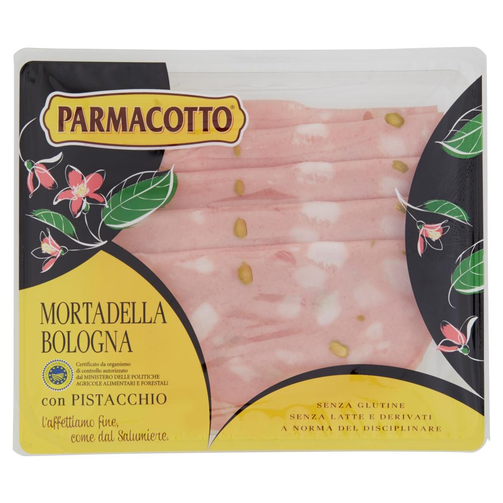 Parmacotto Mortadella Bologna IGP con Pistacchio 120 g