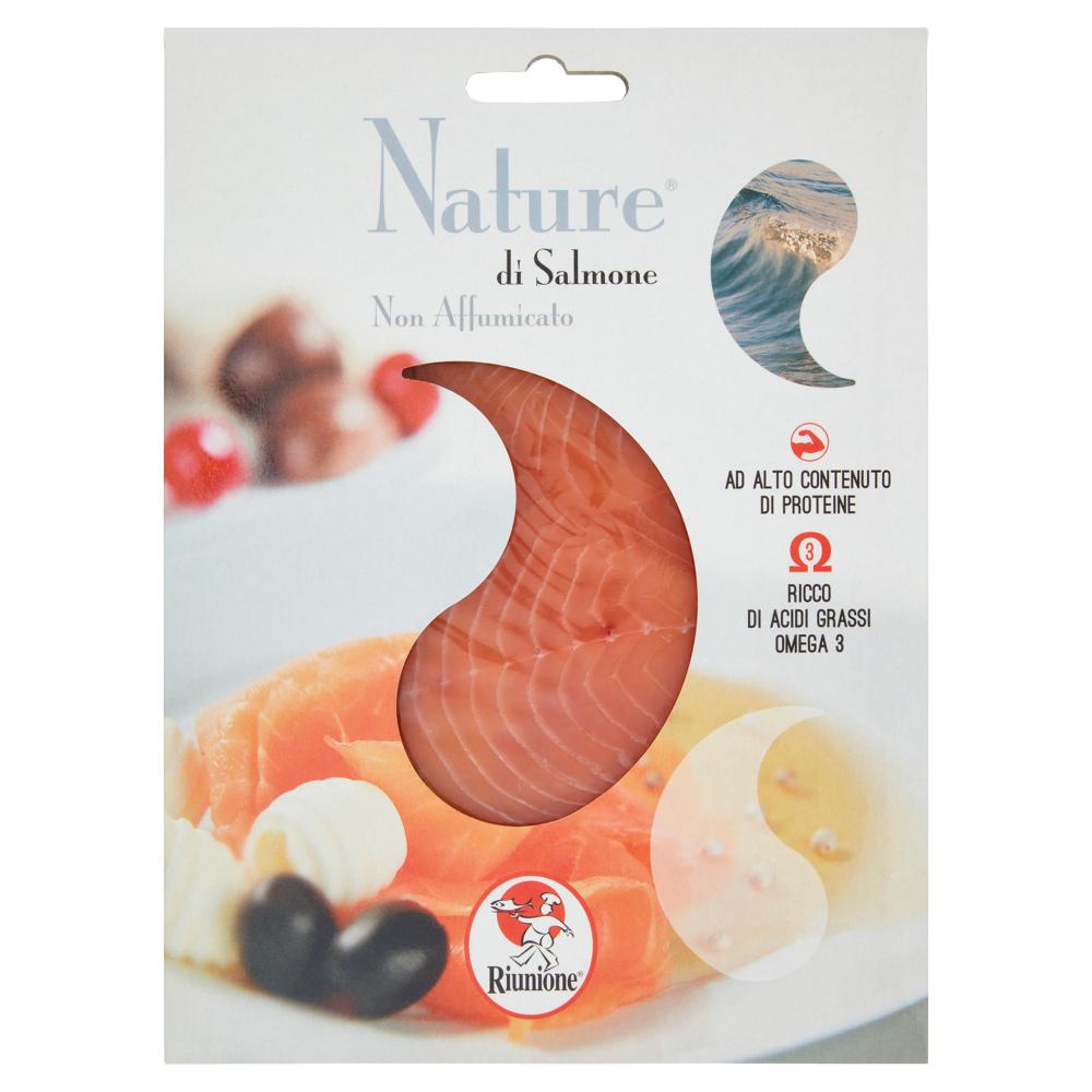Riunione Nature di Salmone Non Affumicato 100 g