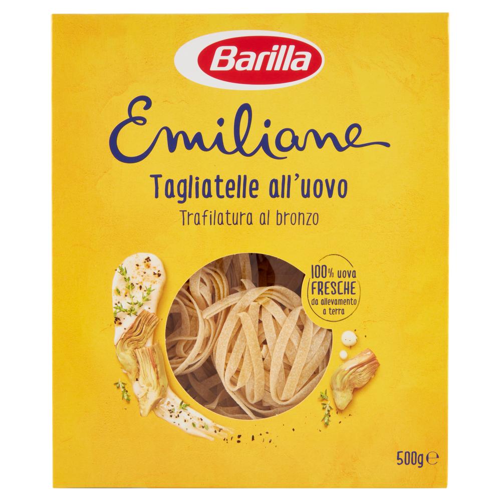 Barilla Emiliane Tagliatelle all'uovo 500g
