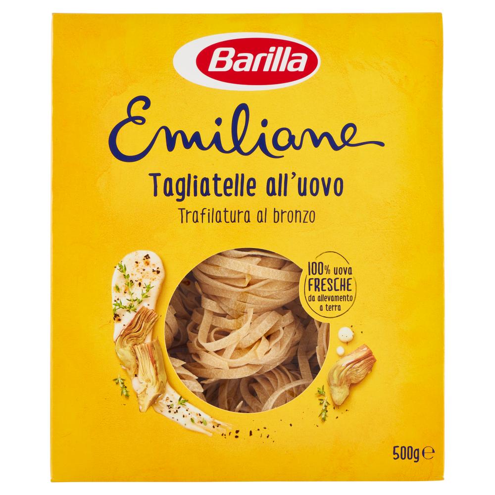 Barilla Emiliane Pasta all'uovo Tagliatelle all'uovo 500g