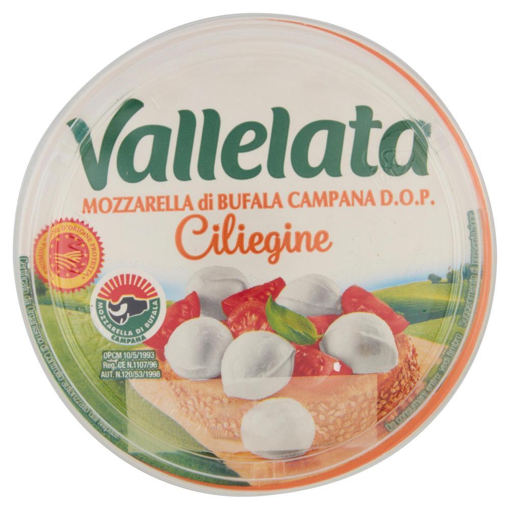 Vallelata Mozzarella Di Bufala Campana D O P Ciliegine 150 G