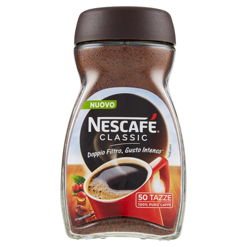 NESCAFÉ CLASSIC caffè solubile barattolo 100g