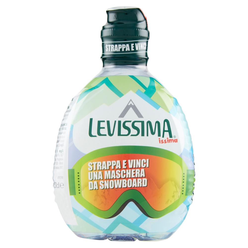 LEVISSIMA, ISSIMA Acqua Minerale Naturale Oligominerale 33cl