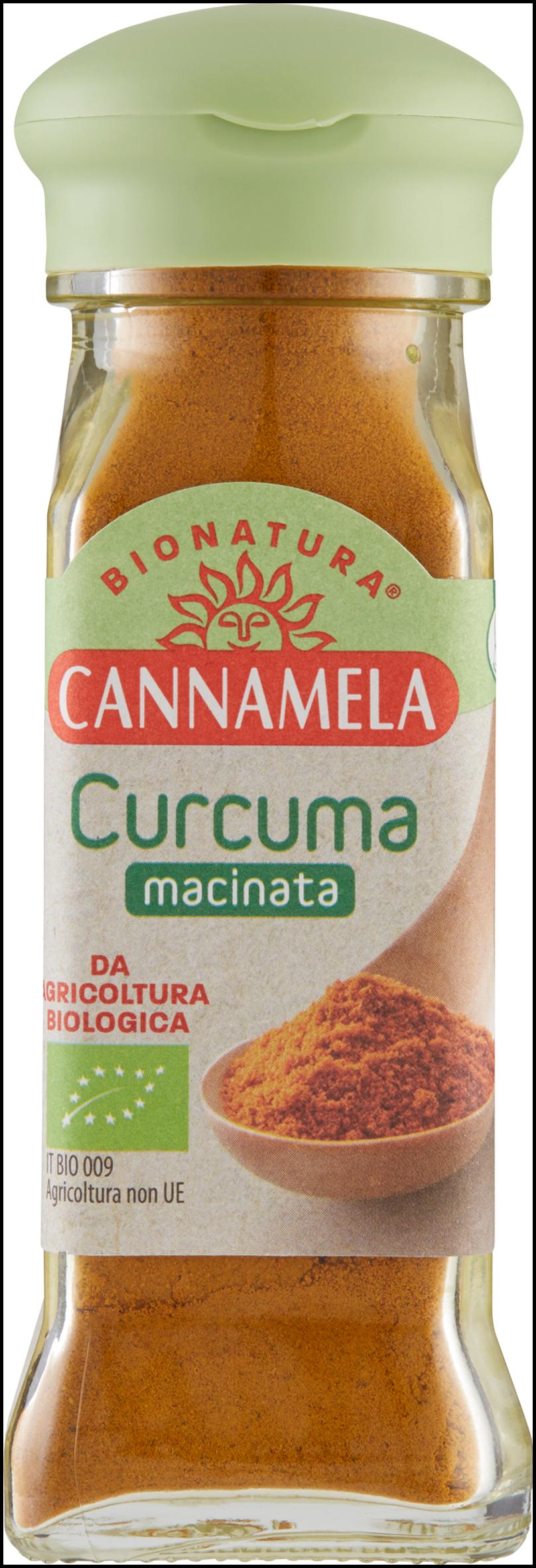 CURCUMA MACINATA CANNAMELA 47G BIO