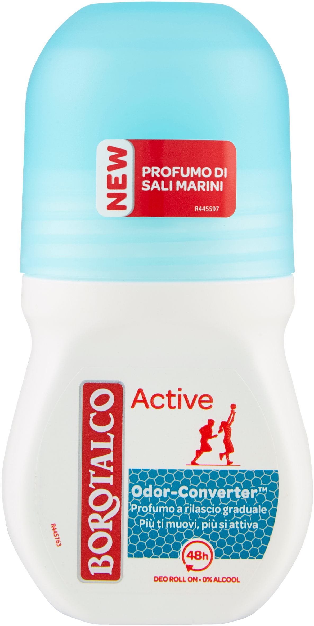DEO ROLL ON BOROTALCO 50ML ACT.BLU