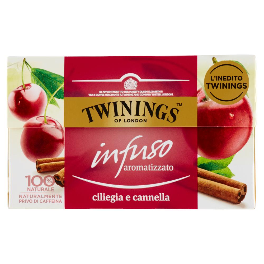 Twinings Infuso Aromatizzato Ciliegia e Cannella 20 x 2 g