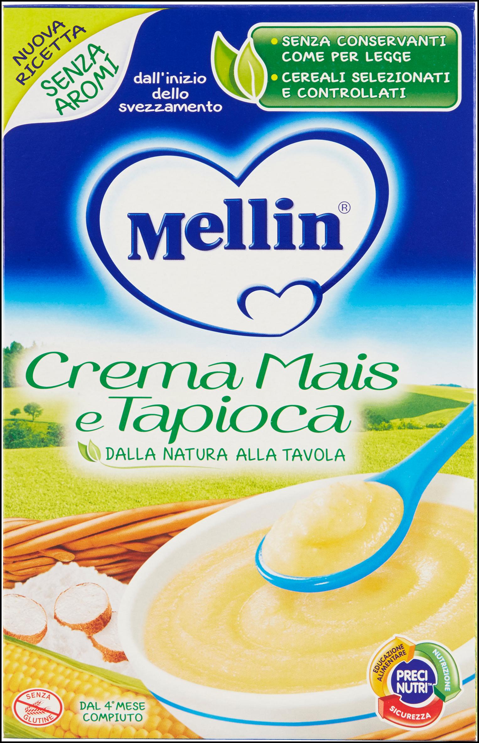 CREMA DI MAIS TAPIOCA MELLIN 200g