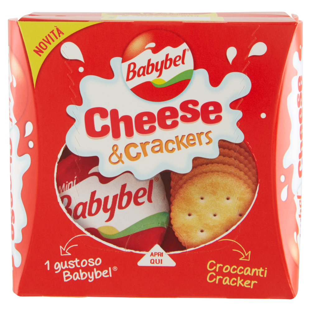Babybel Cheese & Crackers 2 x 40 g