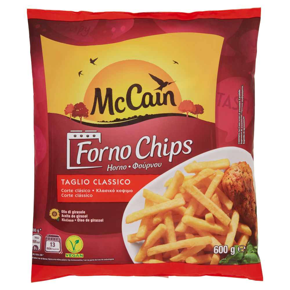 McCain Forno Chips 600 g
