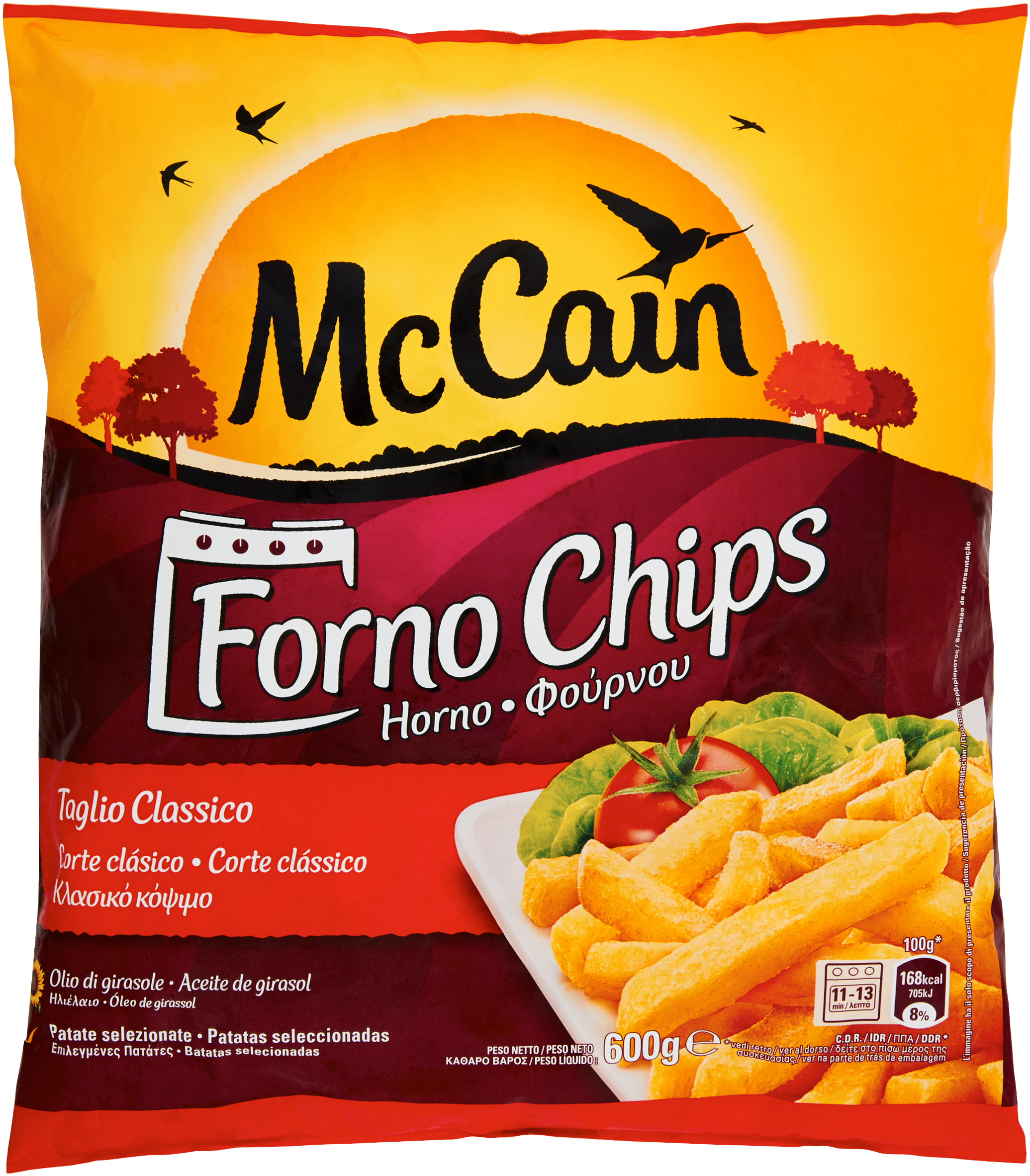 PATATE FORNO CHIPS MC CAIN 600G  I