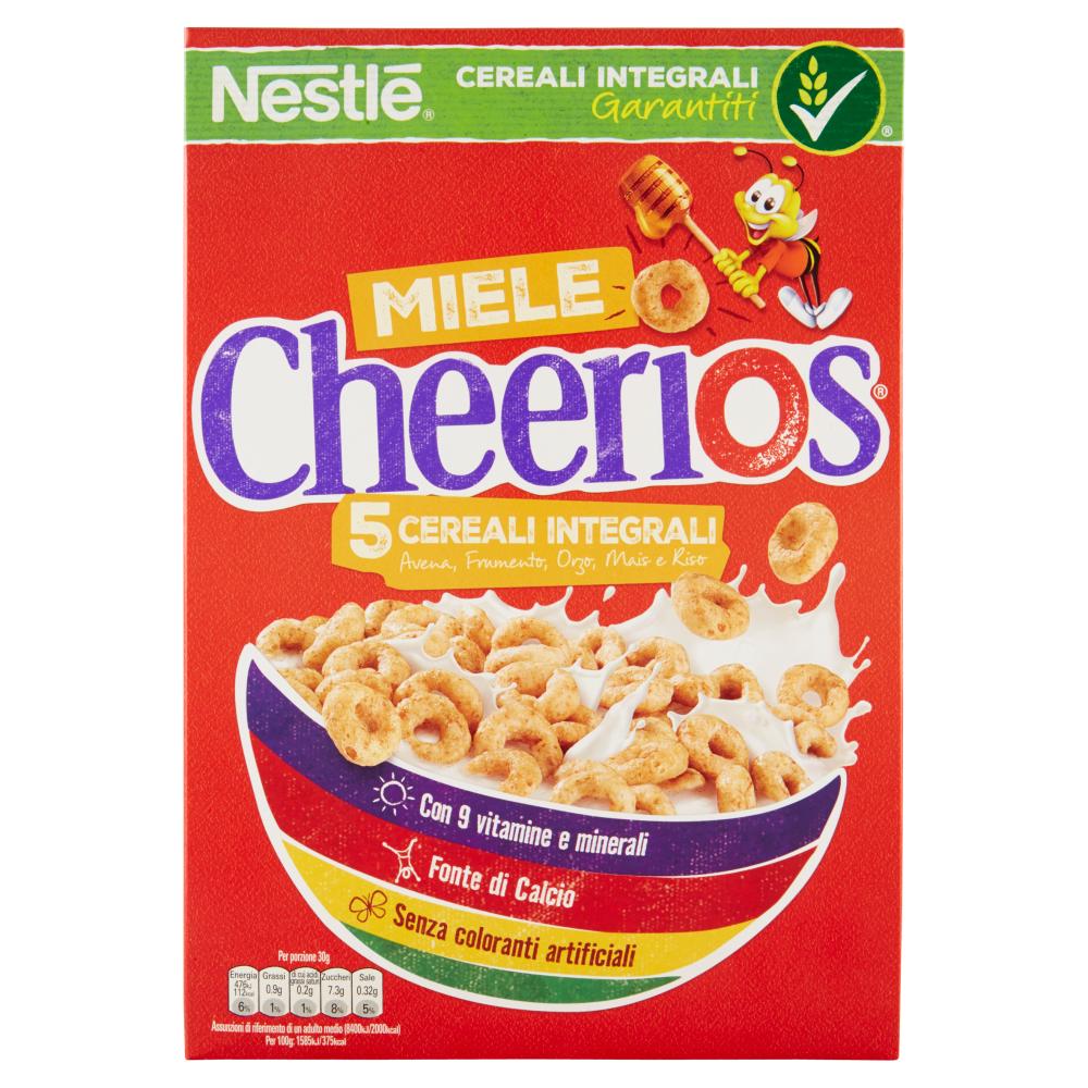 CHEERIOS MIELE ciambelline ai 5 cereali integrali con miele 375 g