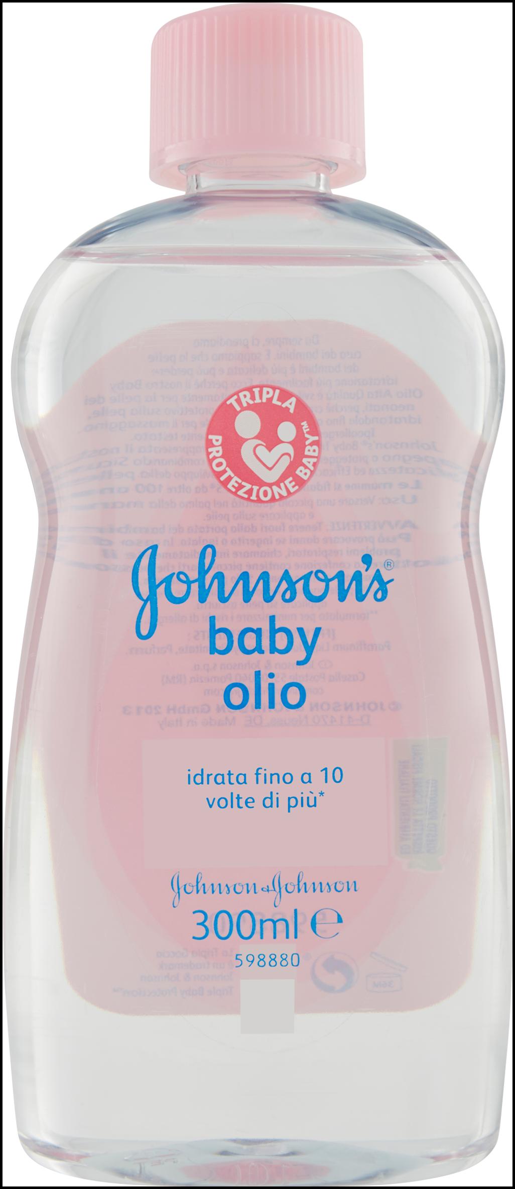 BABY OLIO JOHNSON 300 ML