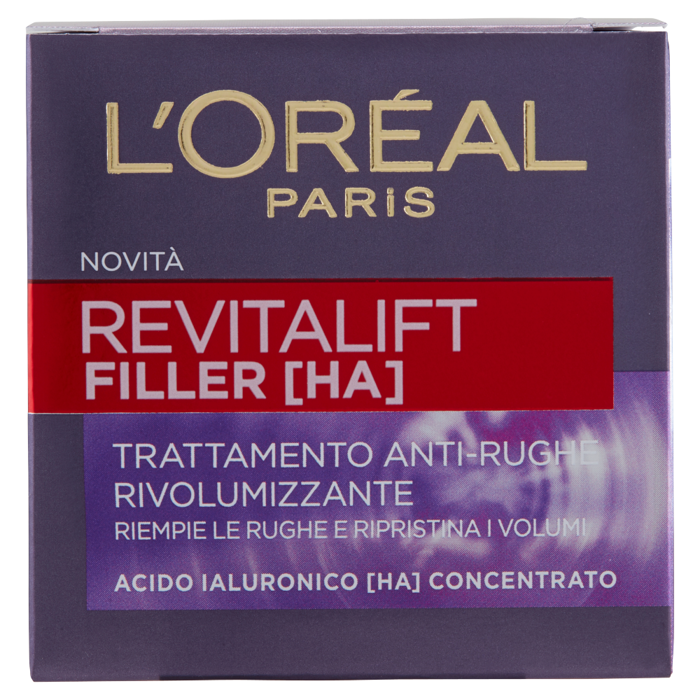 L'Oréal Paris Revitalift filler [HA] Trattamento anti-rughe rivolumizzante 50 ml