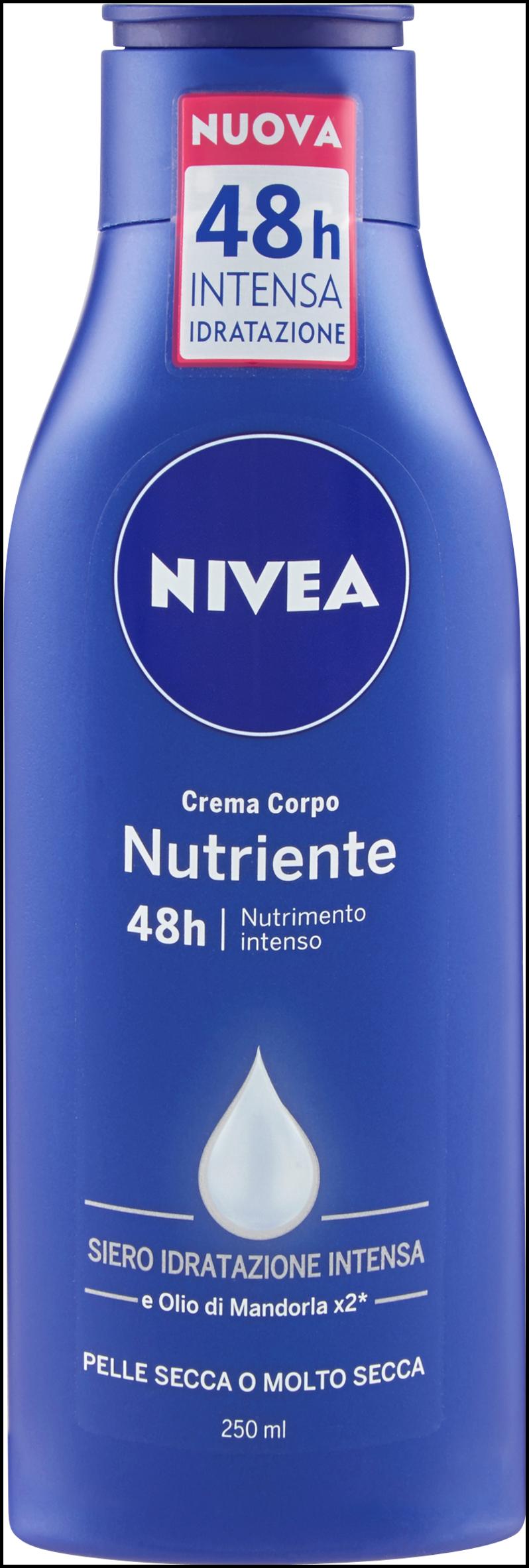 CREMA NIVEA BODY NUTRIENTE ML250 80201