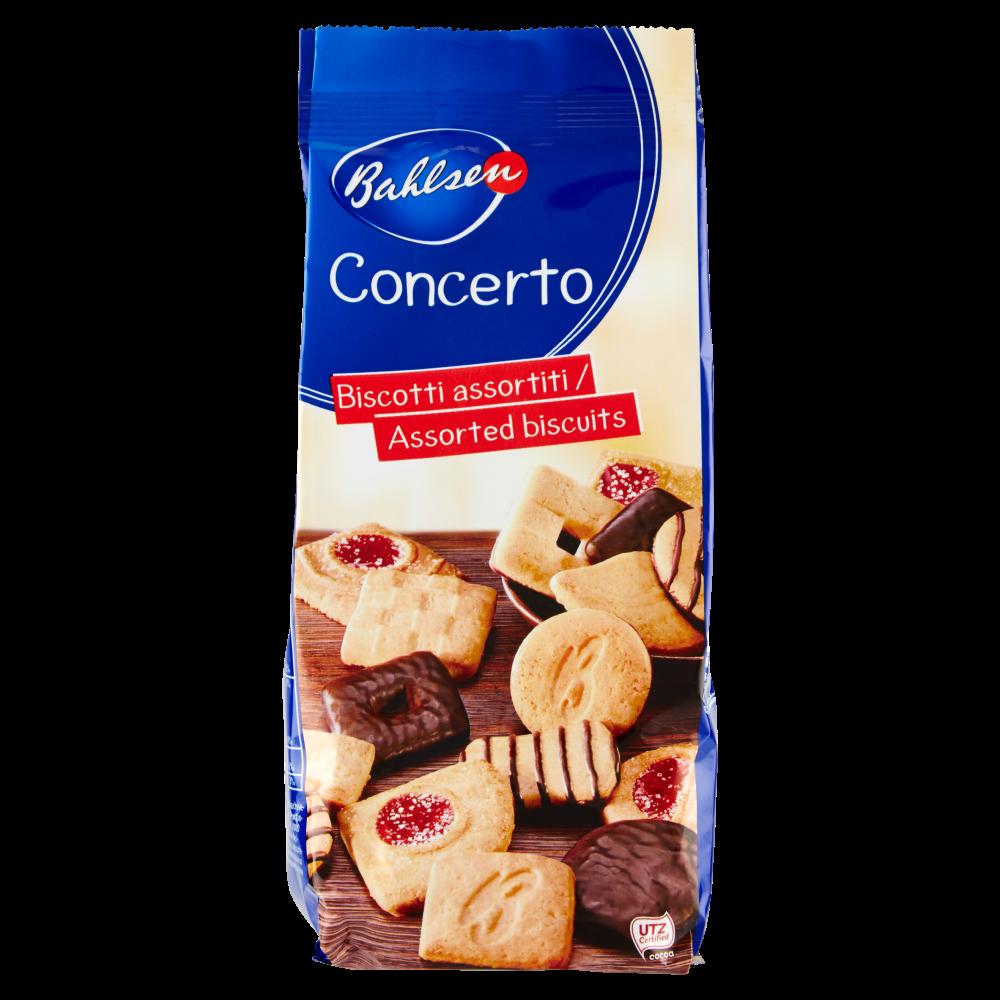 Bahlsen Concerto biscotti assortiti 175 g