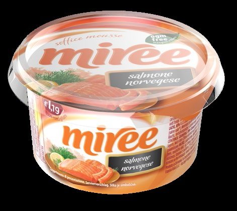 MOUSSE SOFFICE MIREE 135 G SALMONE