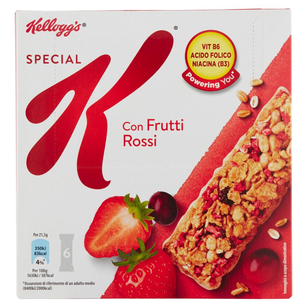 Kellogg's Special K con Frutti Rossi 6 x 21,5 g