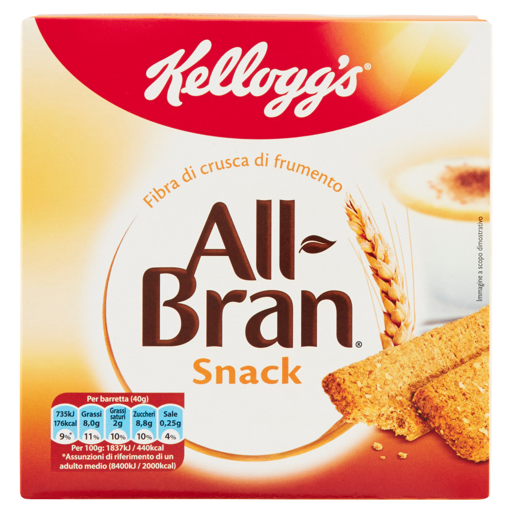Kellogg's All Bran Snack 6 x 40 g