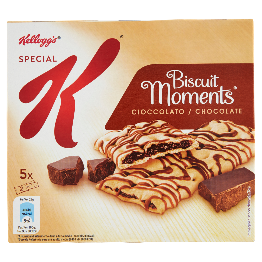 Kellogg's Special K Biscuit Moments Cioccolato 5 x 25 g