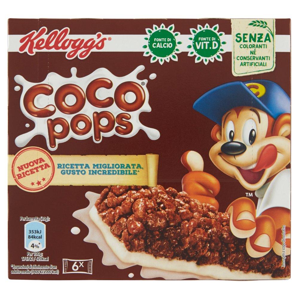 Kellogg's Coco pops 6 x 20 g