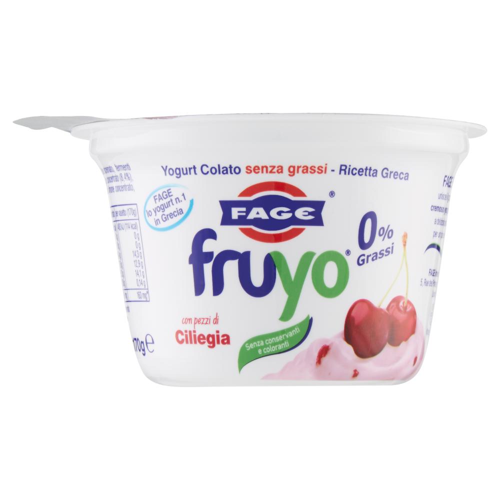 Fage Fruyo 0% Grassi con pezzi di Ciliegia 170 g