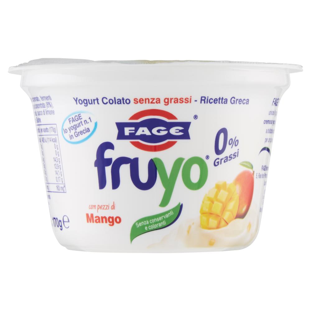 Fage Fruyo 0% Grassi con pezzi di Mango 170 g