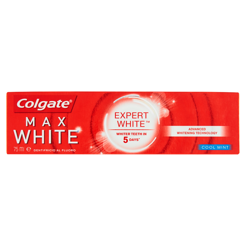 Colgate Max White Expert White Cool Mint Dentifricio 75ml