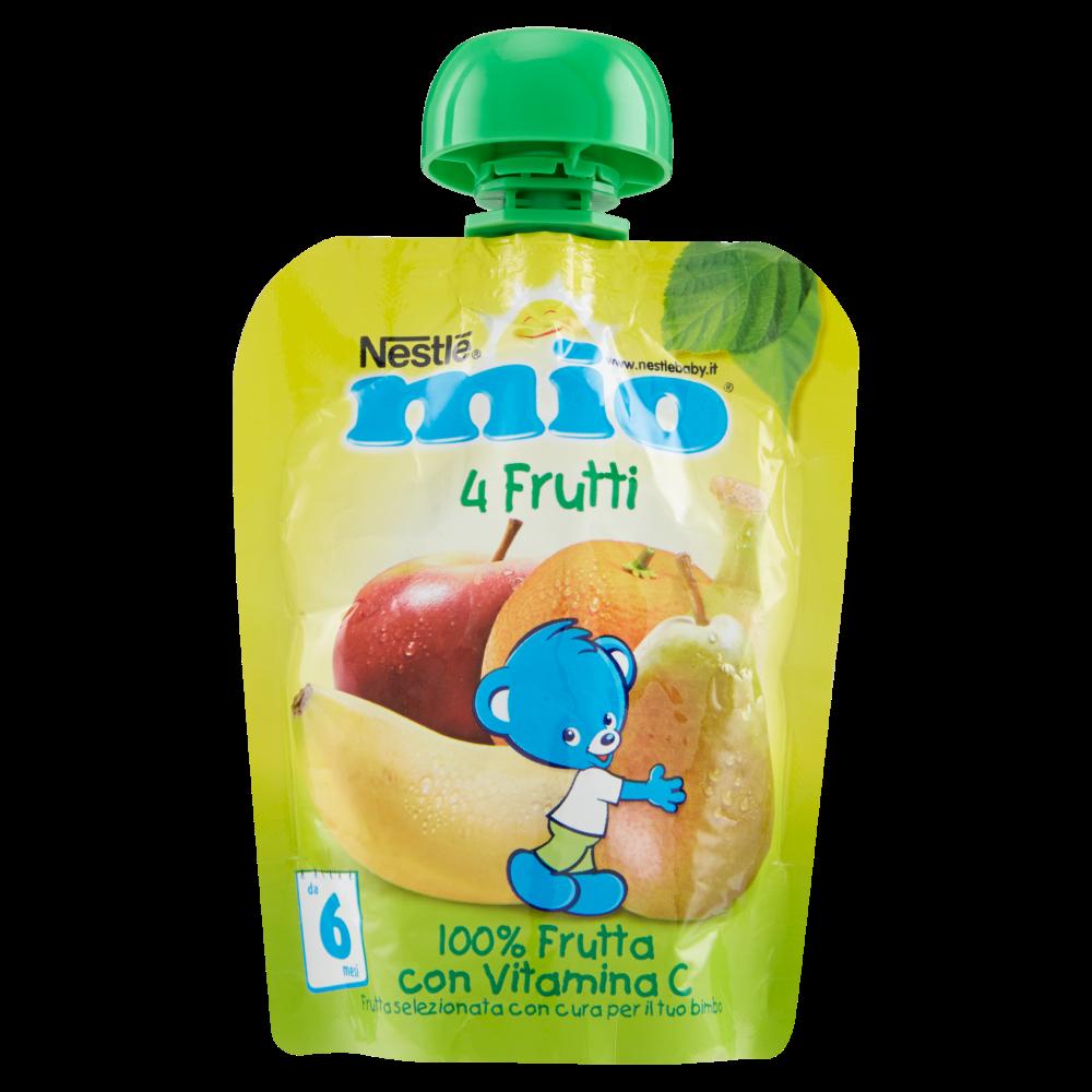 NESTLÉ MIO 4 Frutti Merenda da spremere pouch 90ml