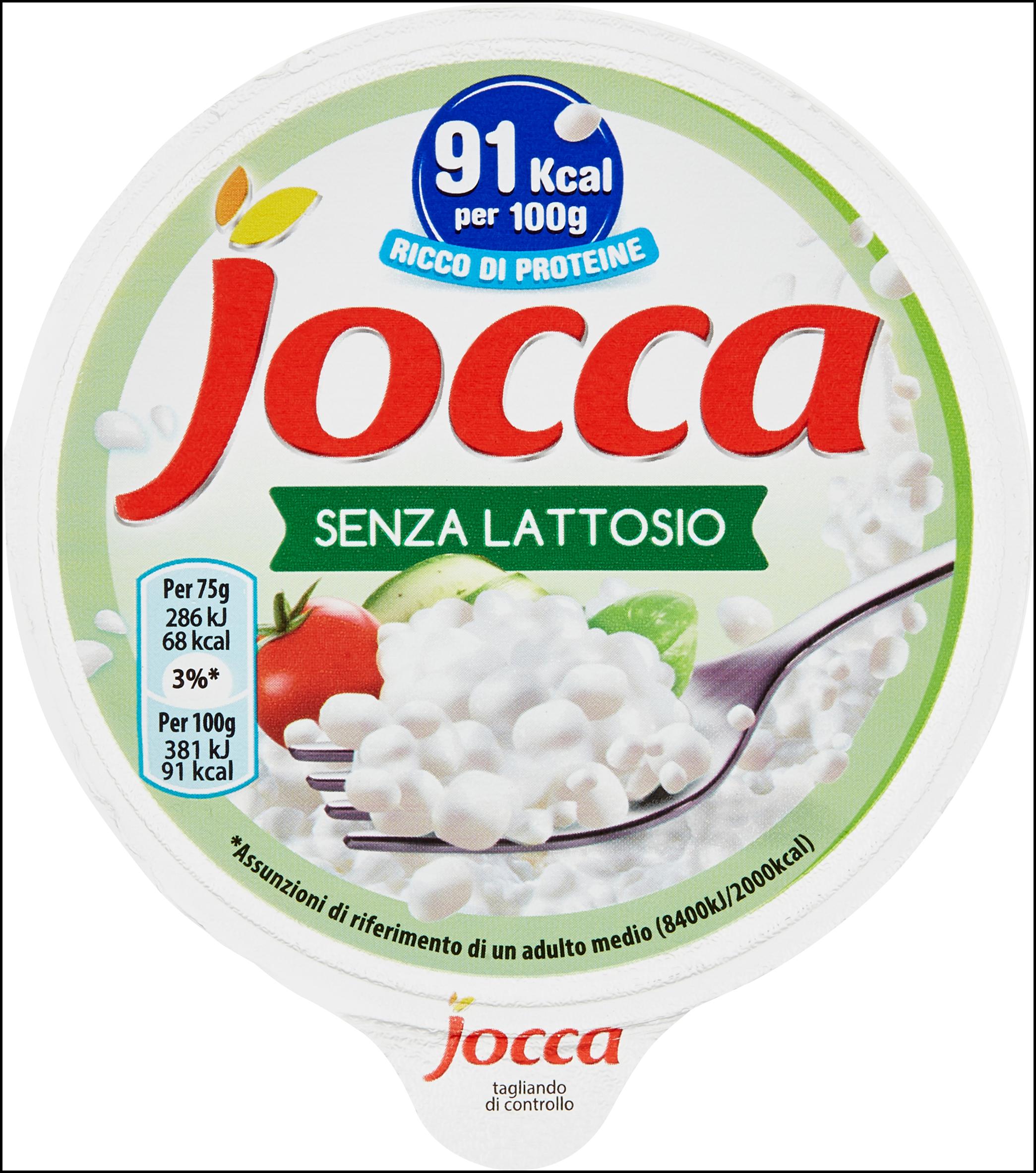 JOCCA SENZA LATTOSIO 150G
