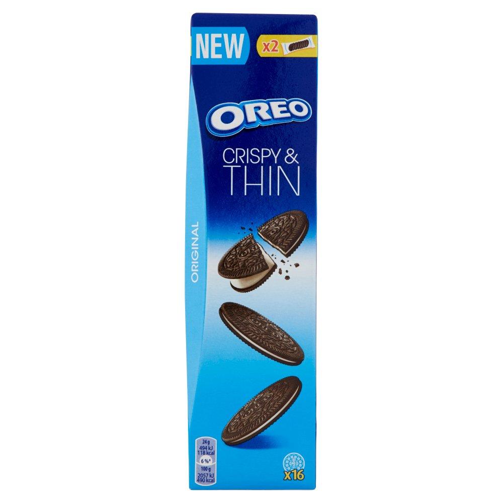 Oreo Crispy & Thin Original 2 pacchetti 96 g