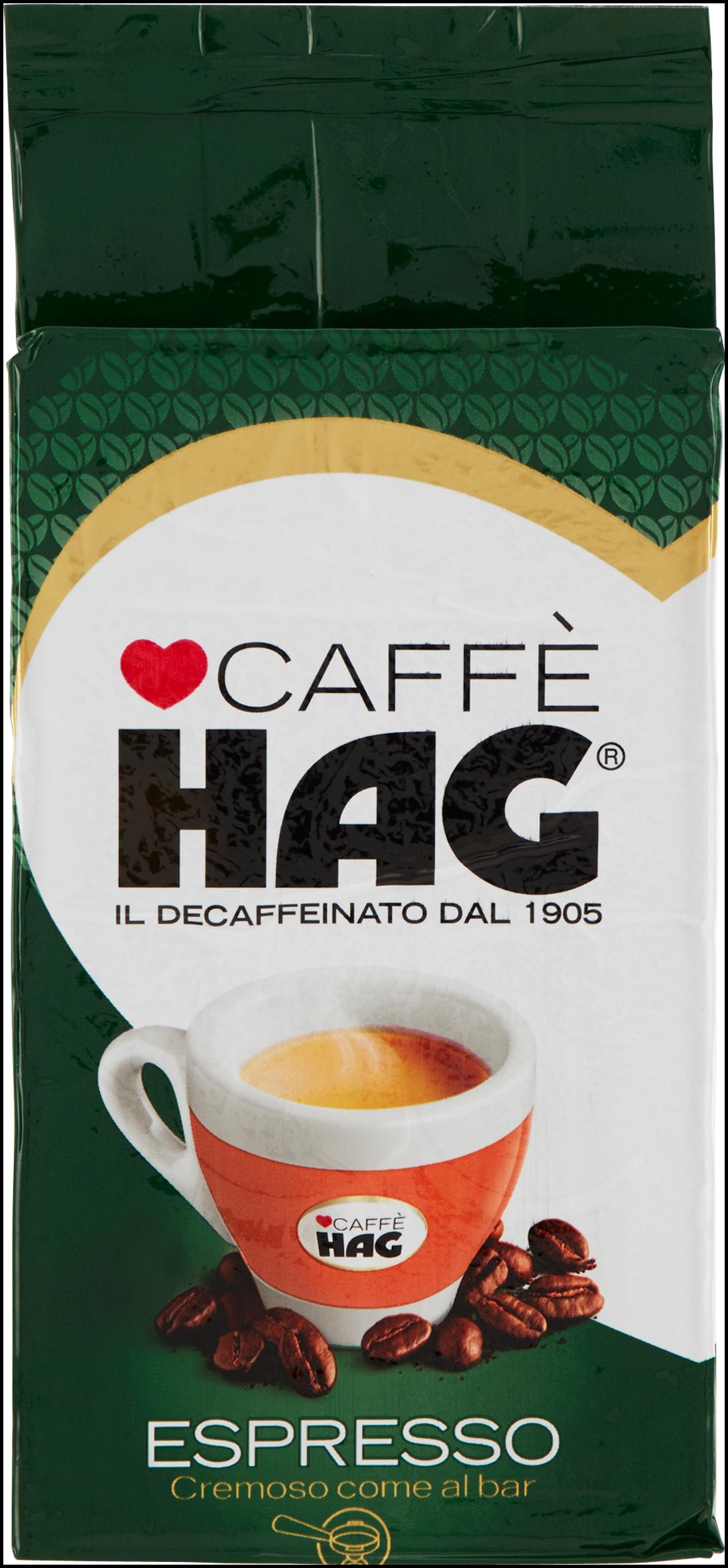 CAFFE' HAG 250G ESPRESSO