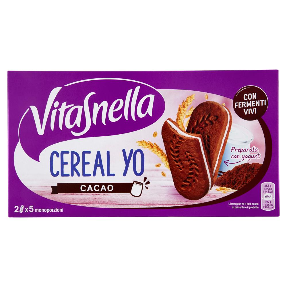 Vitasnella Cereal Yo Cacao 5 x 50,6 g