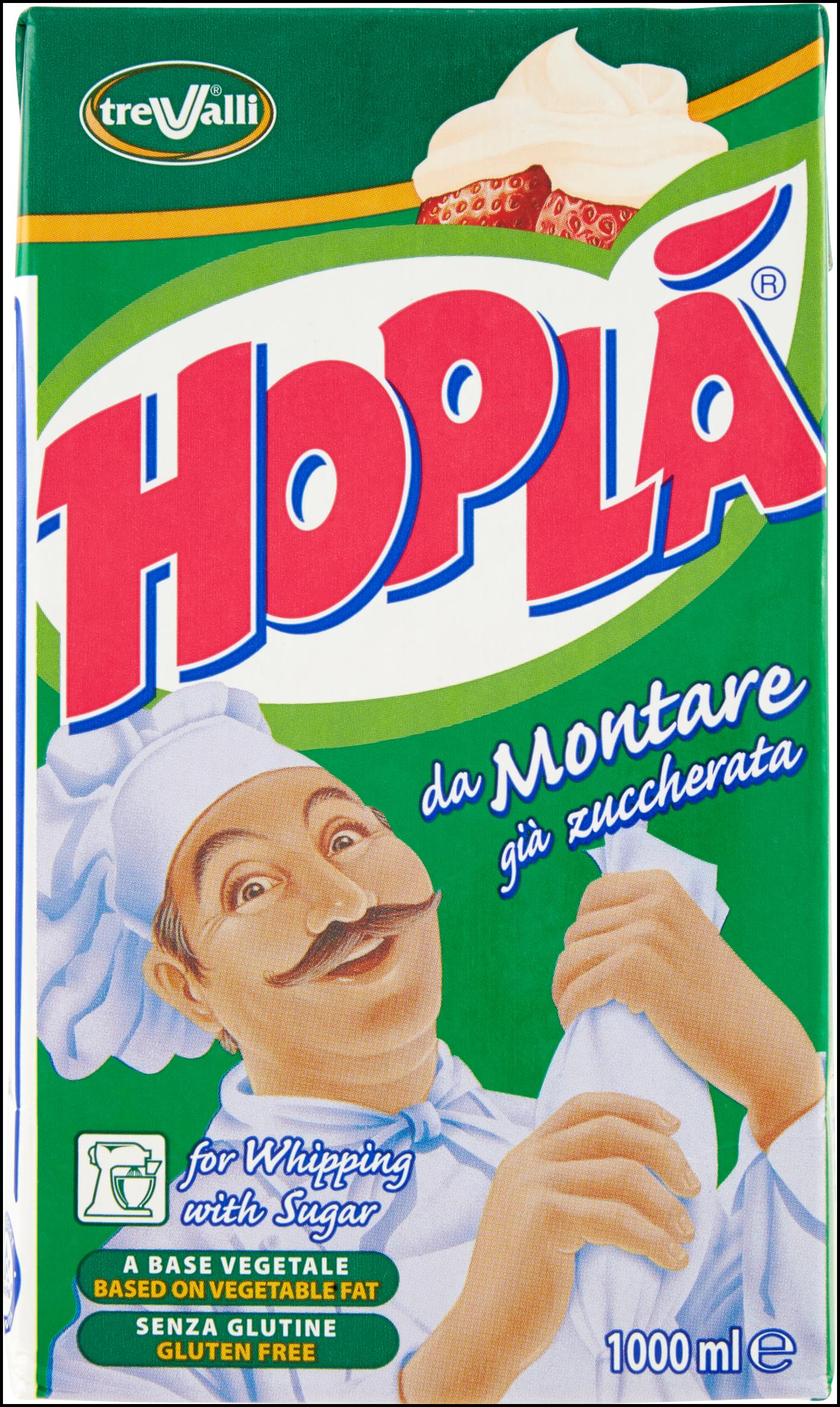 PANNA DOLCE DA MONTARE HOPLA'1000 ML